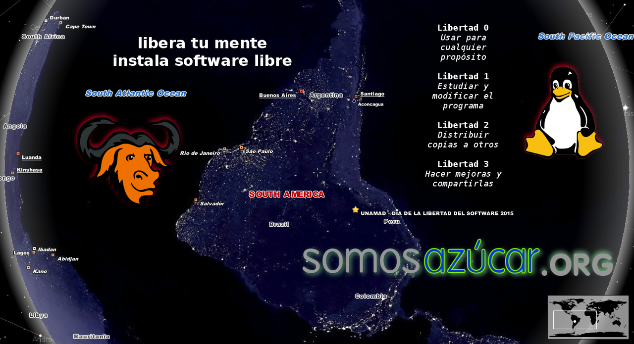 Software Freedom Day 2015 Puerto Maldonado